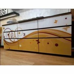 Back Painted Kitchen Glass
