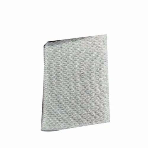 Cotton Plain White Knitted Rib Collar