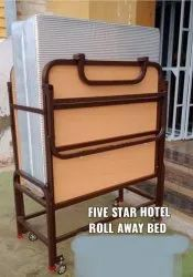 Foldable bed MS frame body