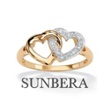 Heart Shape Gold Rings