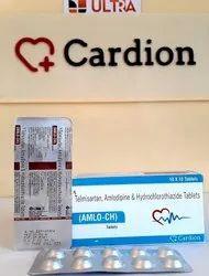 Telmisartan 40 Mg Amlodipine 5 Mg Hydrochlorothiazide 12.5 Mg Tablet