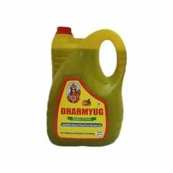 Dharmyug 5L Kachi Ghani Mustard Oil, Packaging Type: Plastic Can, Packaging Size: 5 litre