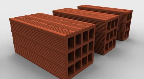 Porotherm Horizontally Perforate Clay Bricks