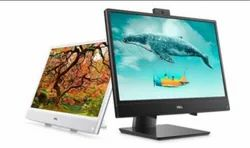 Black Dell Inspiron 22 3000 All- In- One Desktop Computer