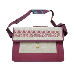 Jute Laptop Bag