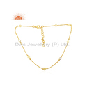 925 Sterling Silver Gold Plated CZ Necklace