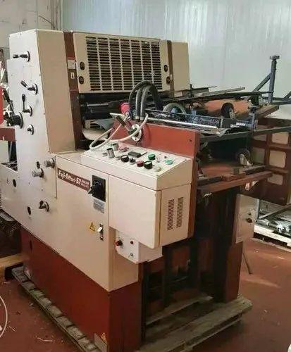 Pamphlet Offset Printing Machine