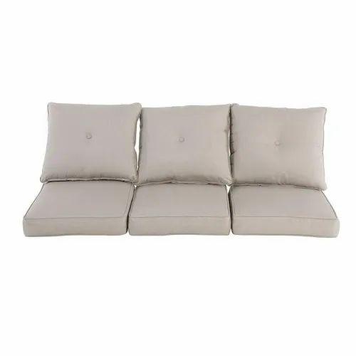 Gray Plain Sofa Cushions For Comfort, Sofa With Pillows
