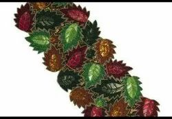 ALI Multicolor Table Runner Hand Beaded, Size: 13x36inch