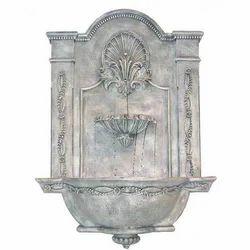 FRP White Wall Fountain