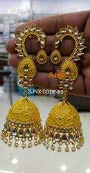 Evershine Brass Jhumka