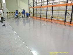 Epoxy/Wooden PU Flooring Services for Indoor