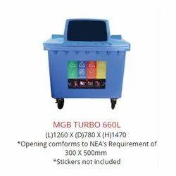 660L MGB Turbo Dustbin