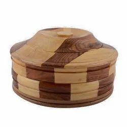 Wooden Chapatti Box