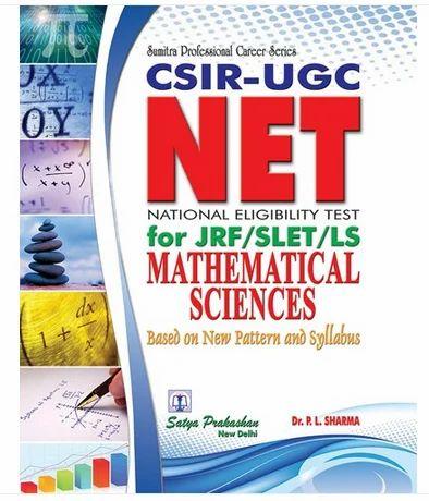 Csir Ugc Net Jrf Slet Ls Mathematical Sciences Book