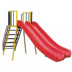 MS, FRP Red Kids Straight Slide, Age Group: 6-10 Years