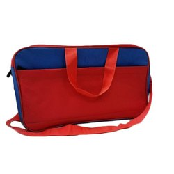 Red PVC Coated Luggage Bag For 3 Day Tour, Size: 18 X 11 X 7.5 Inch