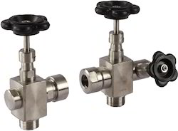 Screwed End SS Gauge Glass Valves - Cock Set