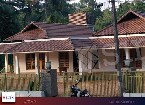 Brown Roofing Tiles