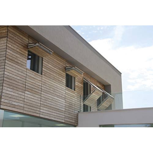 Exterior Wooden Wall Cladding, wood cladding, वुडन ...