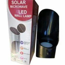 Solar Microwave LED Wall Lamp