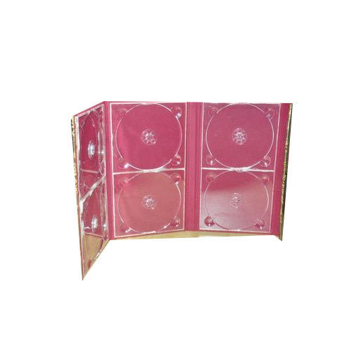 Red Dvd Case Digital Versatile Disc Sai Creation Kolkata