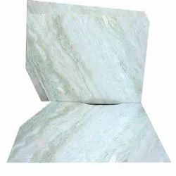 Polished Finish White Marble Slab, Application Area: Flooring, Thickness: 16-18 mm