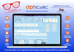 Optical Shop Management Software