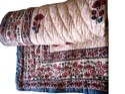 Block Printed Sanganeri Razai Jaipur Quilt Lightweight, Hand Block Printed Soft Quilt