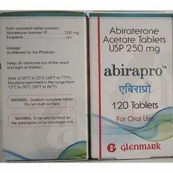 Glenmark Abiraterone Acetate Tablets USP, Packaging Size: 120 Tablets