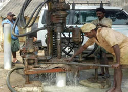 Production Water DTH Borewell Service