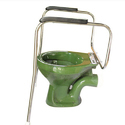 Pedder Johnson Height Adjust Toilet Safety Rail
