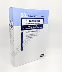 Etanercept Arthritis Oncology Drug, 50 Mg, 50mg