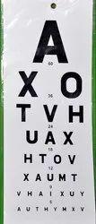 ASF Distance Vision Chart English