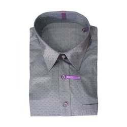 Cotton/Linen Mens Formal Shirt