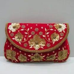 Printed GKM Handicraft Bridal Bag
