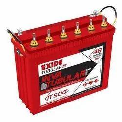 Exide Tubular Inverter Battery, Tall Tubular Battery