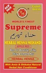 Supreme Herbal Henna Apple Red Mehandi