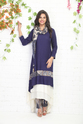 Trail Cut Kurti With Cigarette Pant