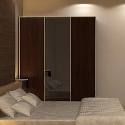 Myllar Brown Foldable Wardrobe, For Home, Hotel