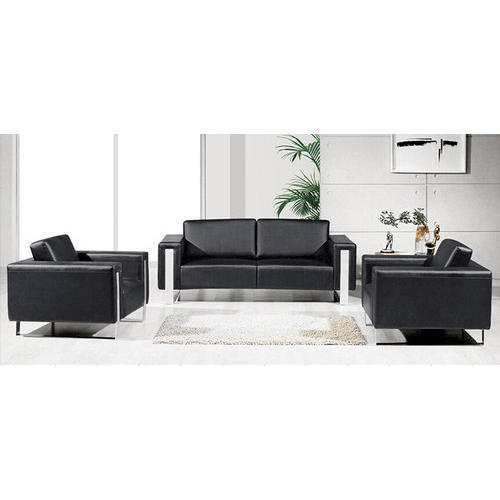 Black 4 Seater Modern Office Sofa, Rs 10000 /seat, JRC Home Decor (A ...
