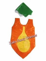 Kids Papaya Cutout Costume