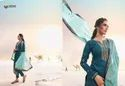 Designer Festive Pure Jam Silk Embroidered Dress Material Collections