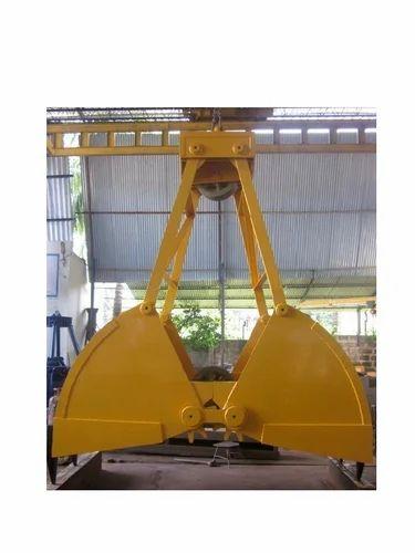 Clamshell Grab Bucket 2 Cubic Meter - Safal Engineers