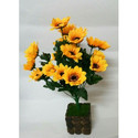 Hyperboles Artificial Sunflower Potted Plant