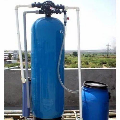 Blue 50 L Industrial Water Softener