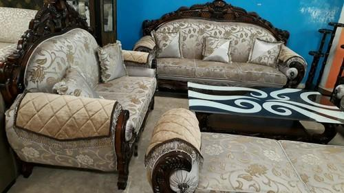 Designer Wooden Sofa Set 9 Seater Table The Wood