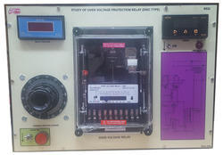 Over Voltage Protection  Relay ( Disc Type ) Trainer