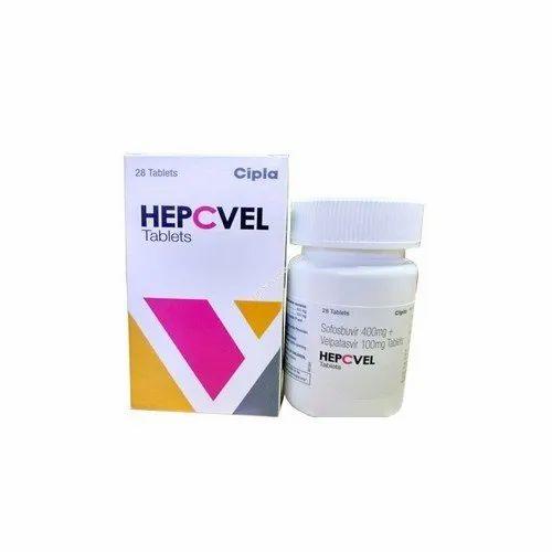 Hepcvel Tablets, Packaging Size: 28 Tablets, Packaging Type: Bottle