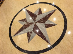Marble Floor Inlay Cutting Services